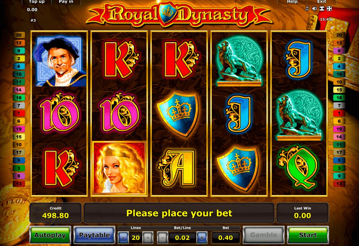 royal dynasty novomatic tragamonedas gratis