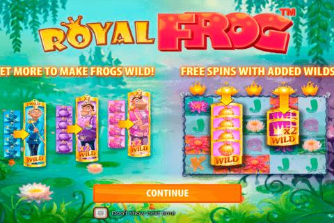 royal frog quickspin tragamonedas gratis