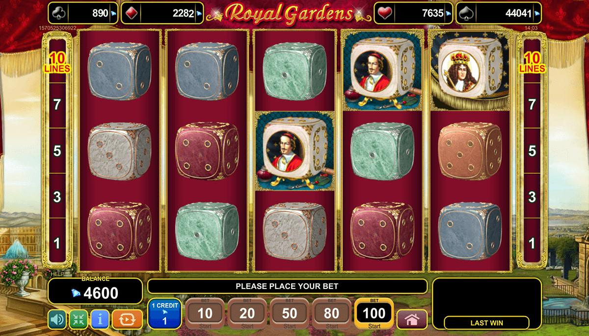 royal gardens egt tragamonedas gratis