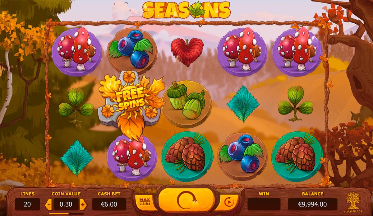 seasons yggdrasil tragamonedas gratis