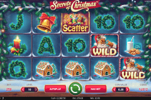 secrets of christmas netent tragamonedas gratis