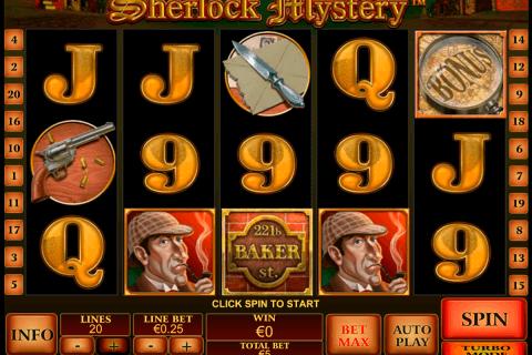 sherlock mystery playtech tragamonedas gratis