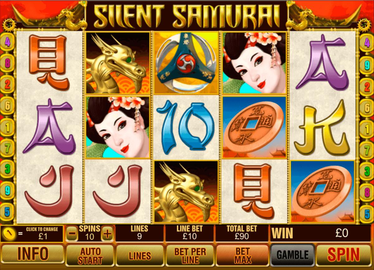 silent samurai playtech tragamonedas gratis