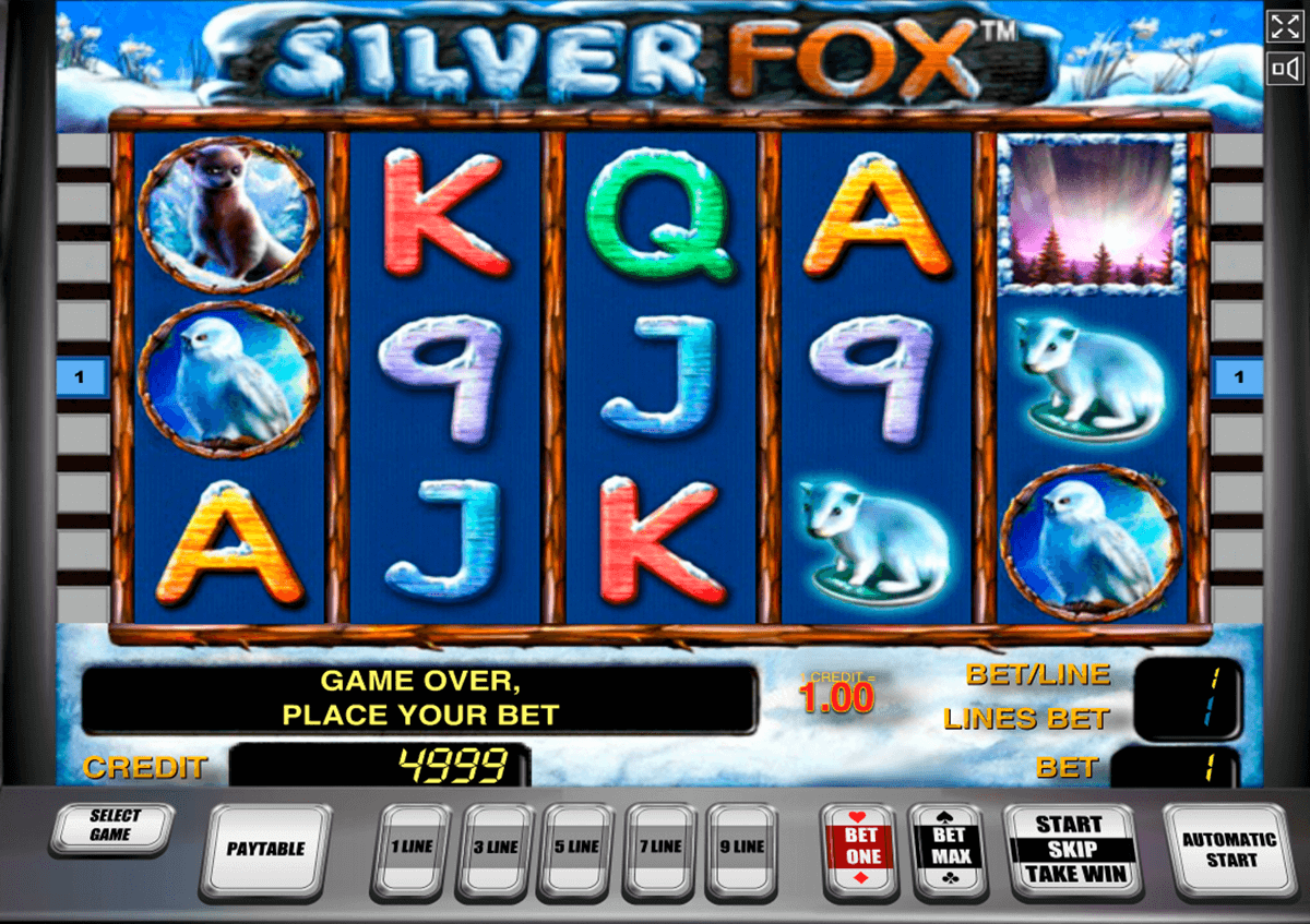 silver fox novomatic tragamonedas gratis