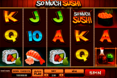 so much sushi microgaming tragamonedas gratis