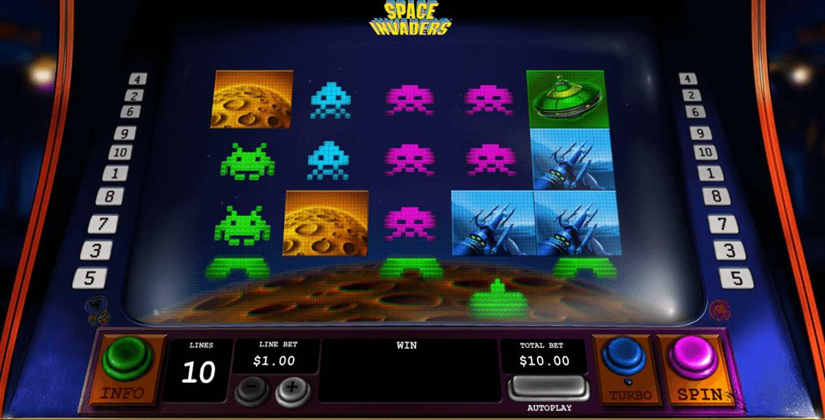 space invaders playtech tragamonedas gratis