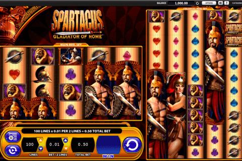 spartacus wms tragamonedas gratis