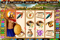 spirit of the inca rtg tragamonedas gratis