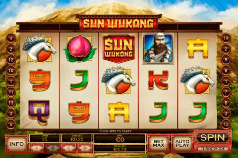sun wukong playtech tragamonedas gratis