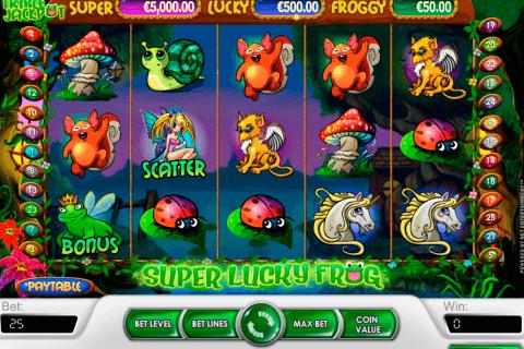 super lucky frog netent tragamonedas gratis