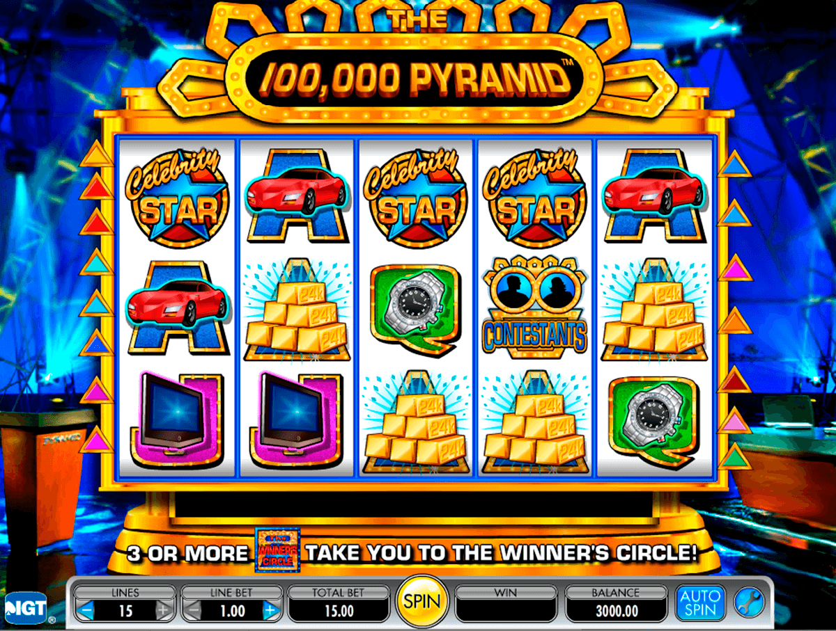 the 100000 pyramid igt tragamonedas gratis