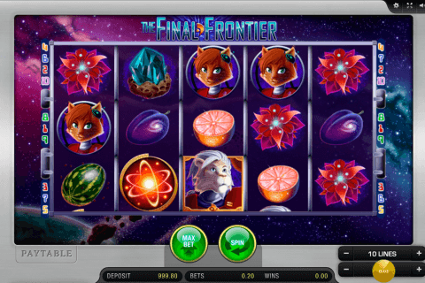 the final frontier merkur tragamonedas gratis