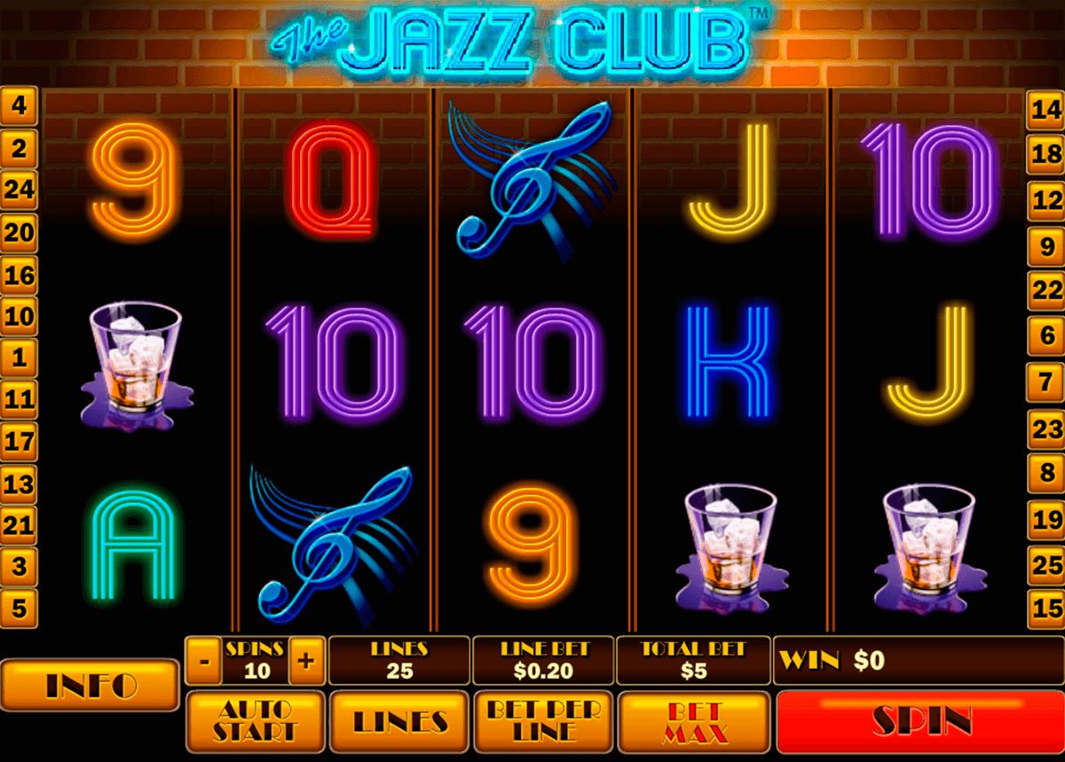 the jazz club playtech tragamonedas gratis