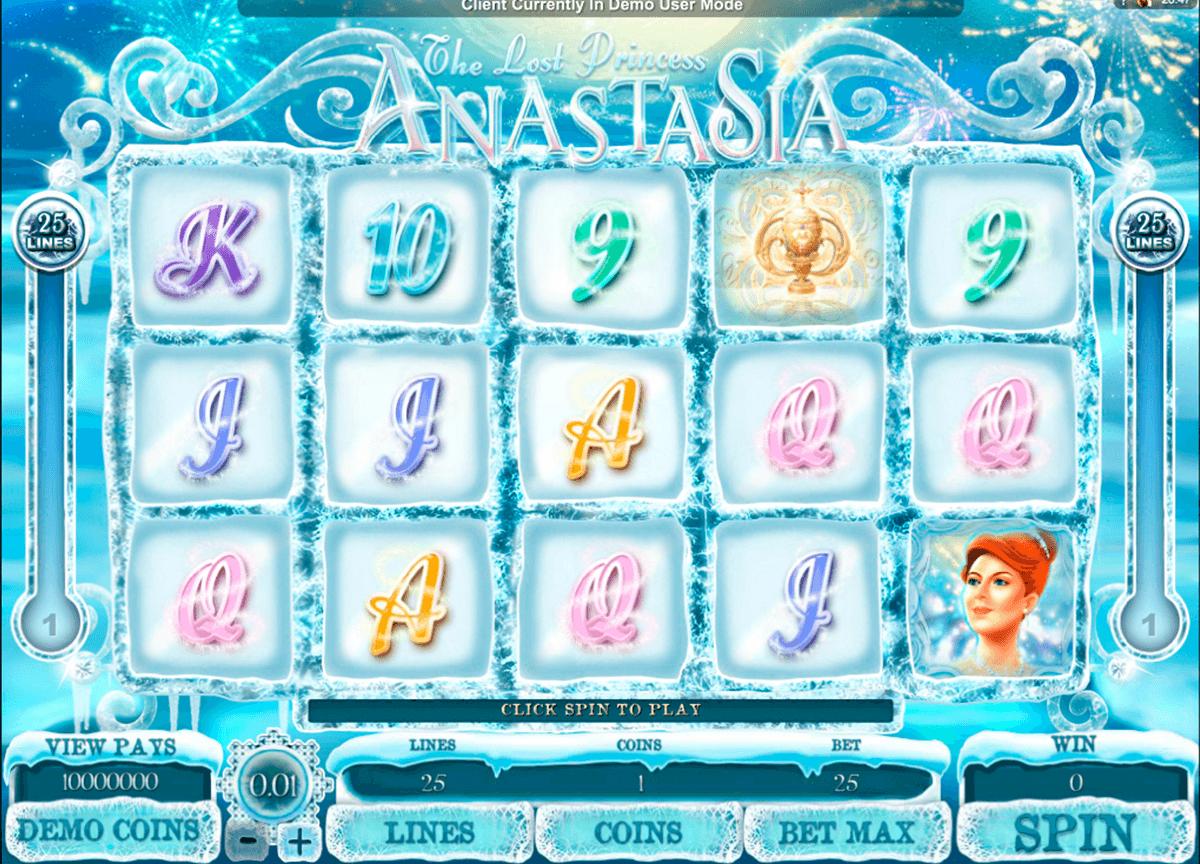 the lost princess anastasia microgaming tragamonedas gratis