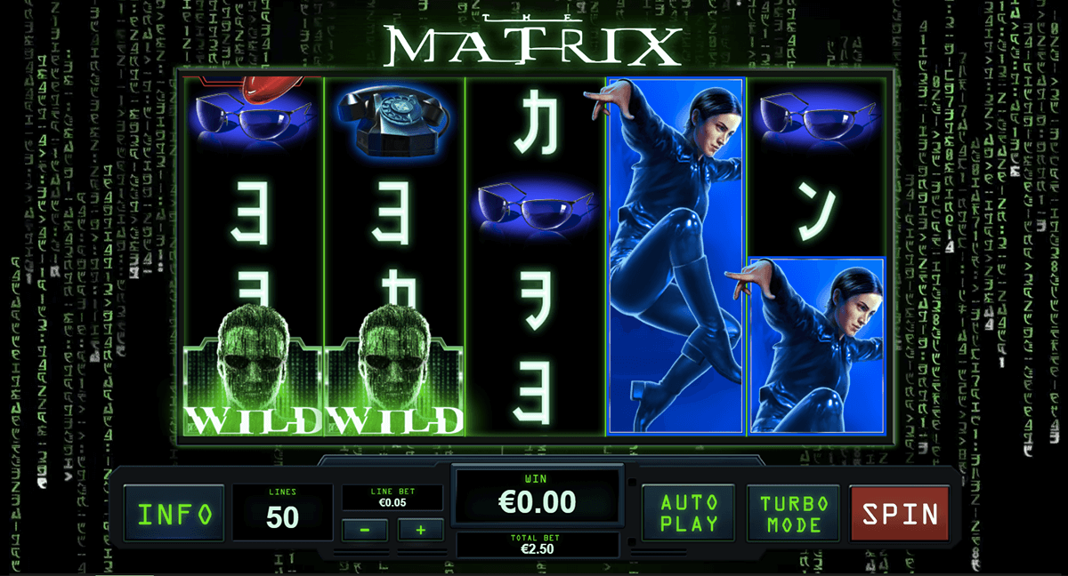 the matrix playtech tragamonedas gratis