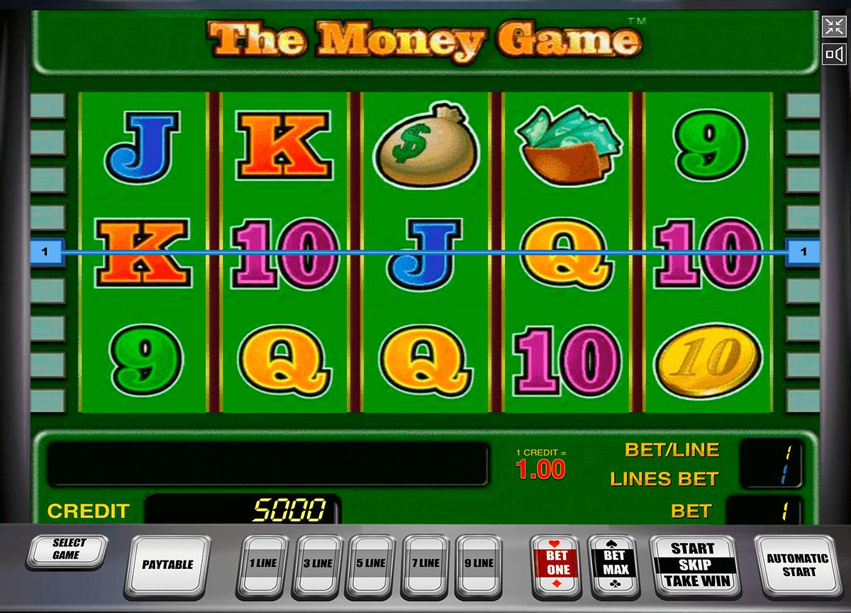 the money game novomatic tragamonedas gratis