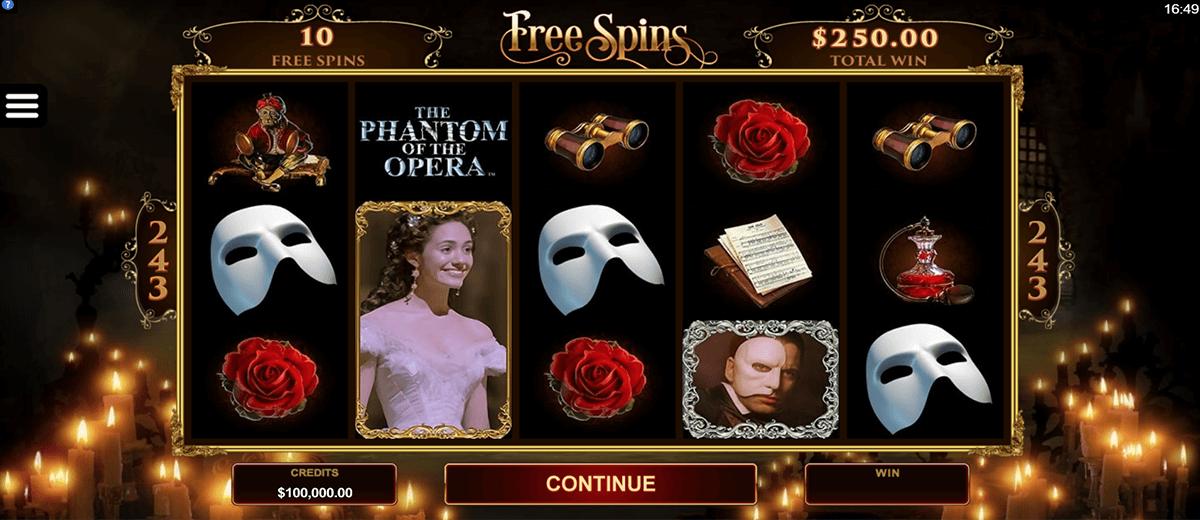 the phantom of the opera microgaming tragamonedas gratis