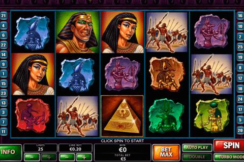 the pyramid of the ramesses playtech tragamonedas gratis
