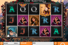 the three musketeers quickspin tragamonedas gratis