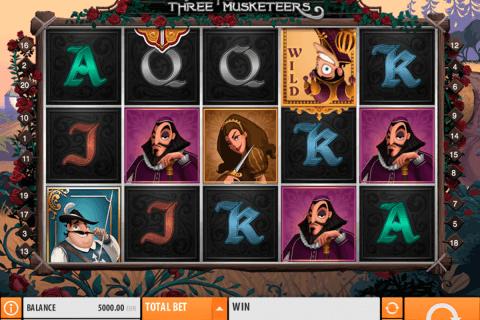 the three musketeers quickspin tragamonedas gratis