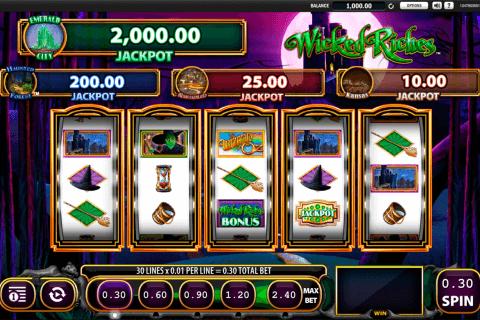 the wizard of oz wicked riches wms tragamonedas gratis