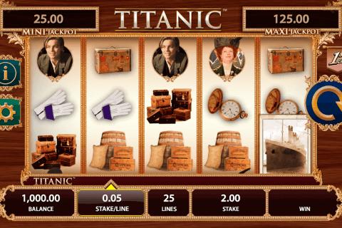 titanic bally tragamonedas gratis