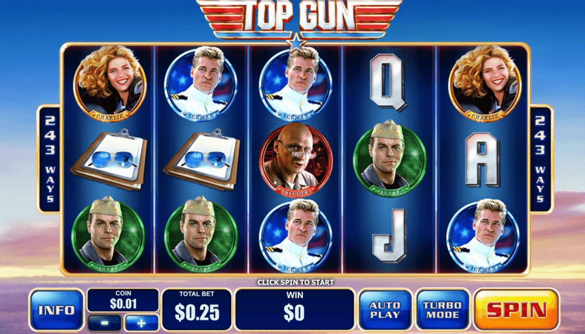 top gun playtech tragamonedas gratis