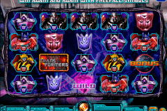 transformers battle for cybertron igt tragamonedas gratis