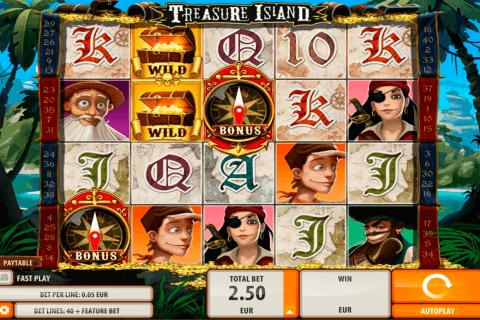 treasure island quickspin tragamonedas gratis