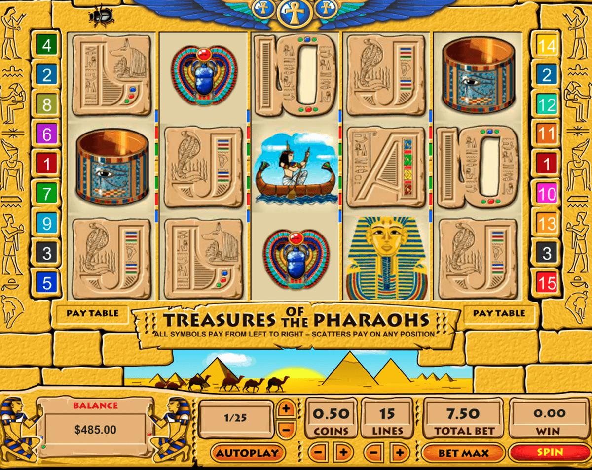 treasure of the pharaohs pragmatic tragamonedas gratis