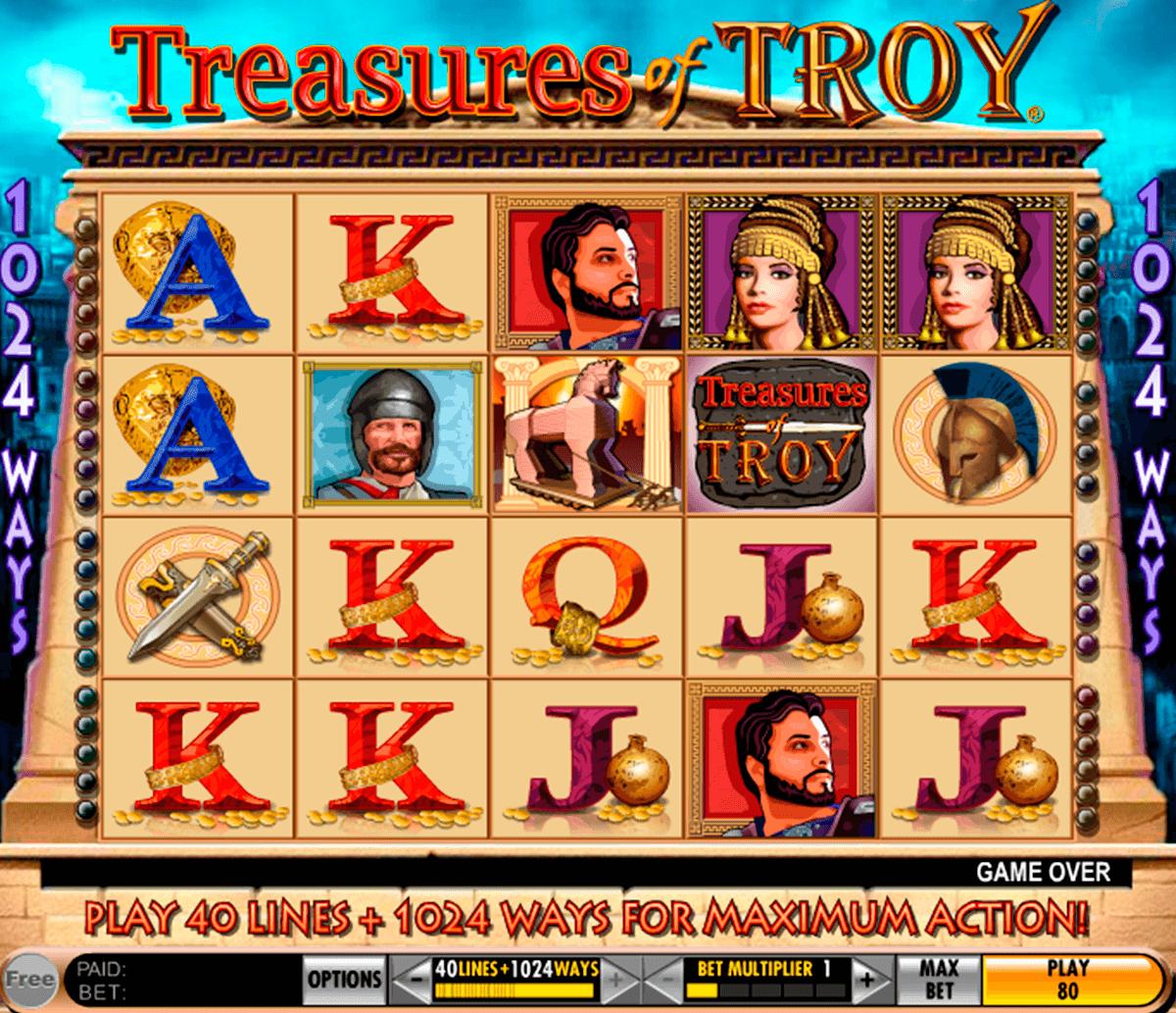 treasures of troy igt tragamonedas gratis