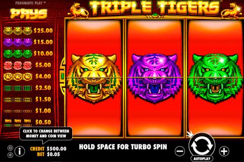 triple tigers pragmatic tragamonedas gratis