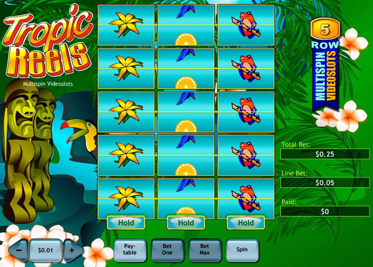 tropic reels playtech tragamonedas gratis