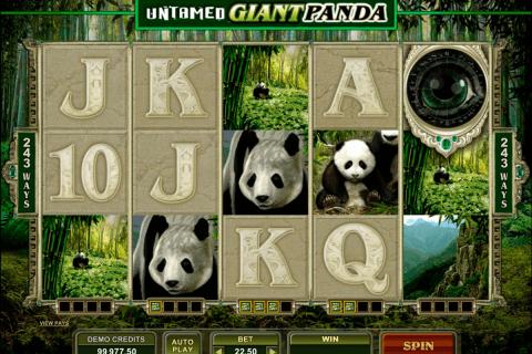 untamed giant panda microgaming tragamonedas gratis