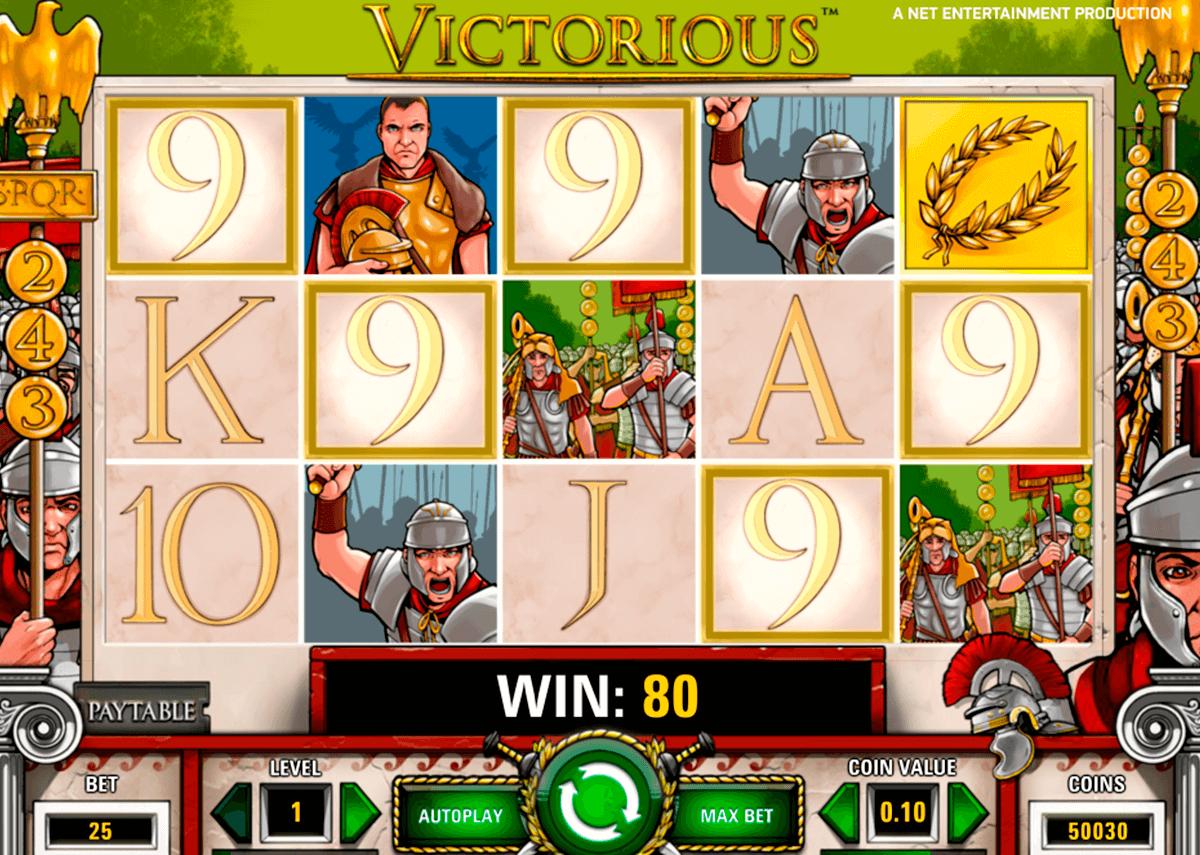 victorious netent tragamonedas gratis