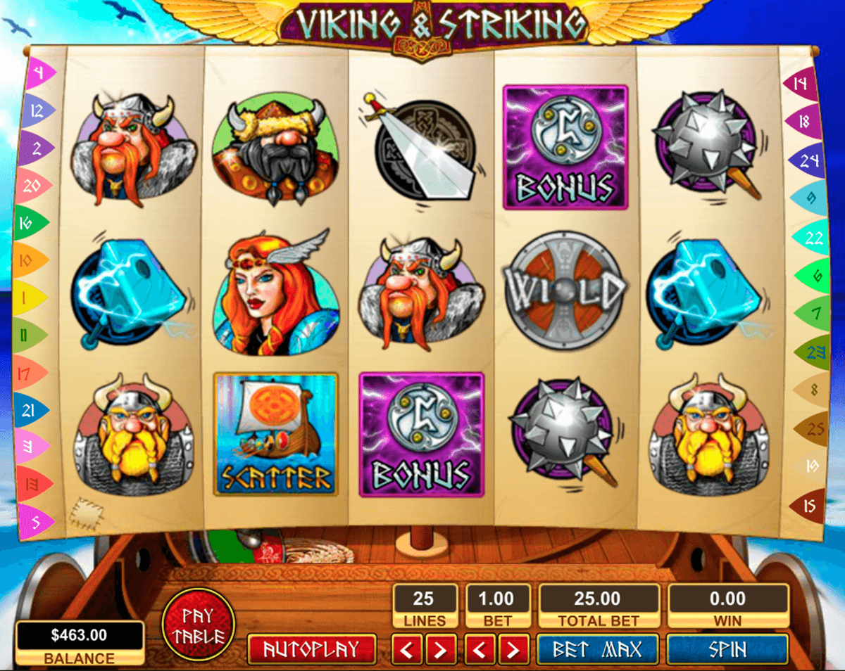 viking striking pragmatic tragamonedas gratis