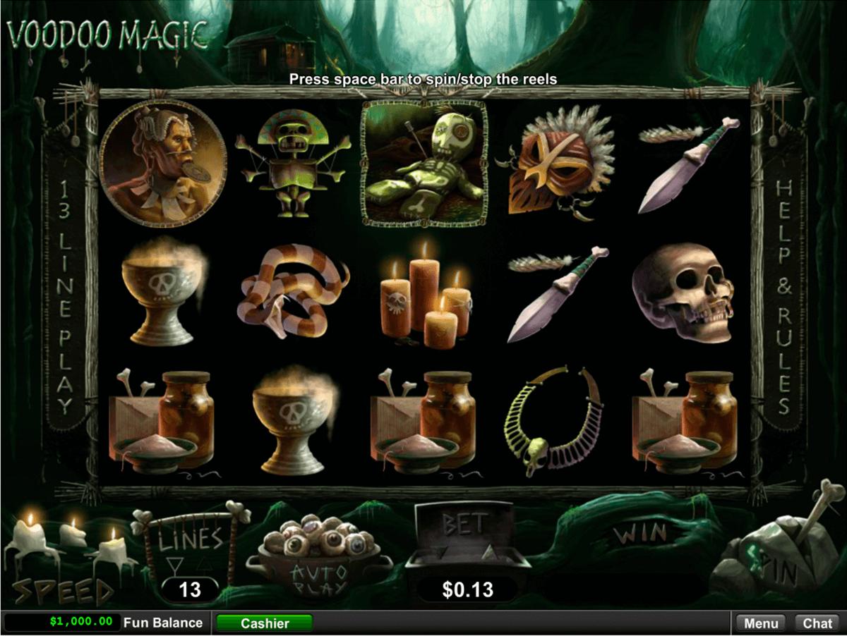 voodoo magic rtg tragamonedas gratis