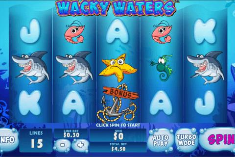 wacky waters playtech tragamonedas gratis