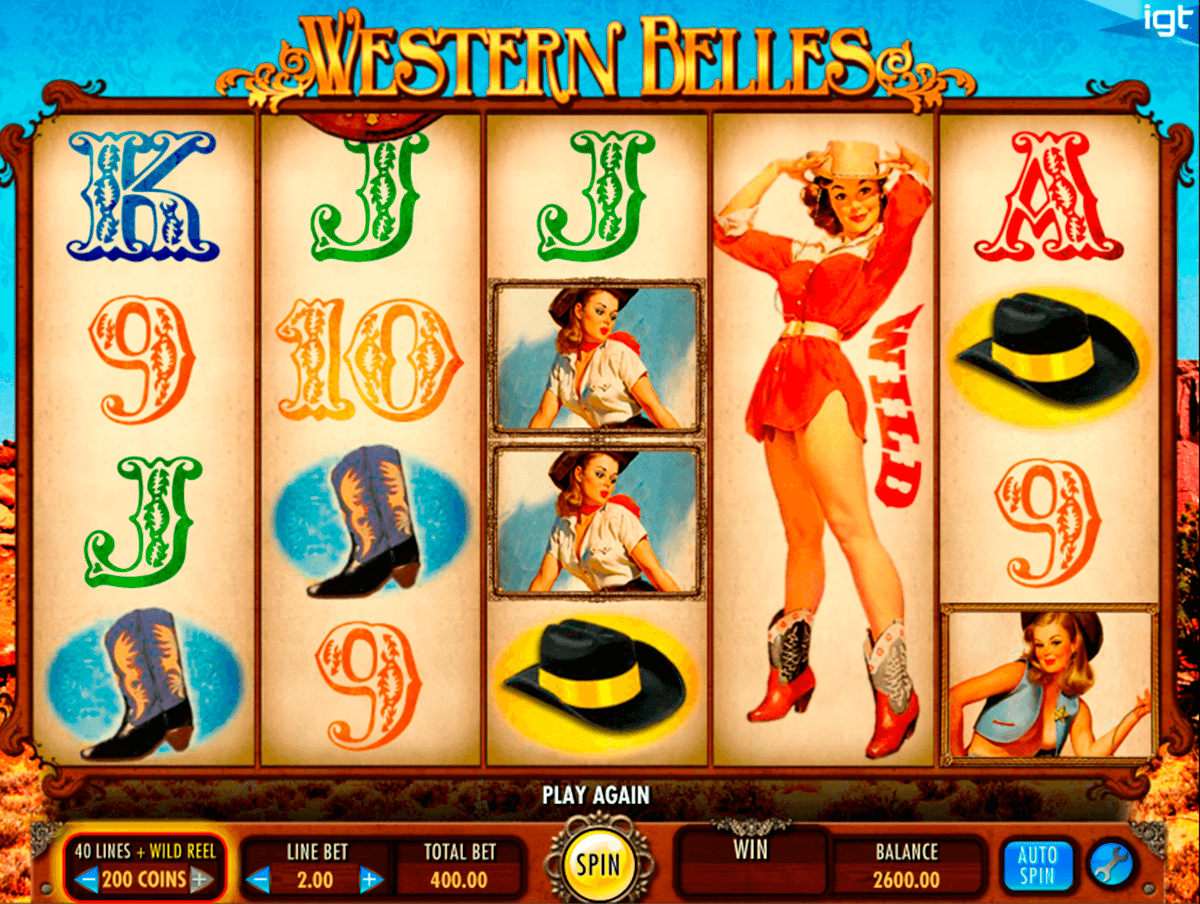 western belles igt tragamonedas gratis