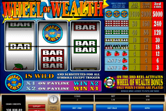 wheel of wealth microgaming tragamonedas gratis