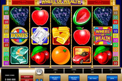 wheel of wealth special edition microgaming tragamonedas gratis