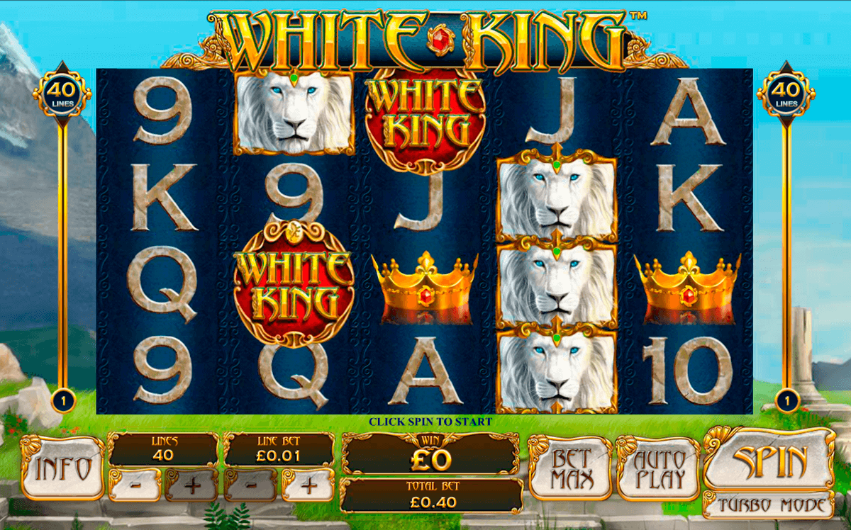 white king playtech tragamonedas gratis