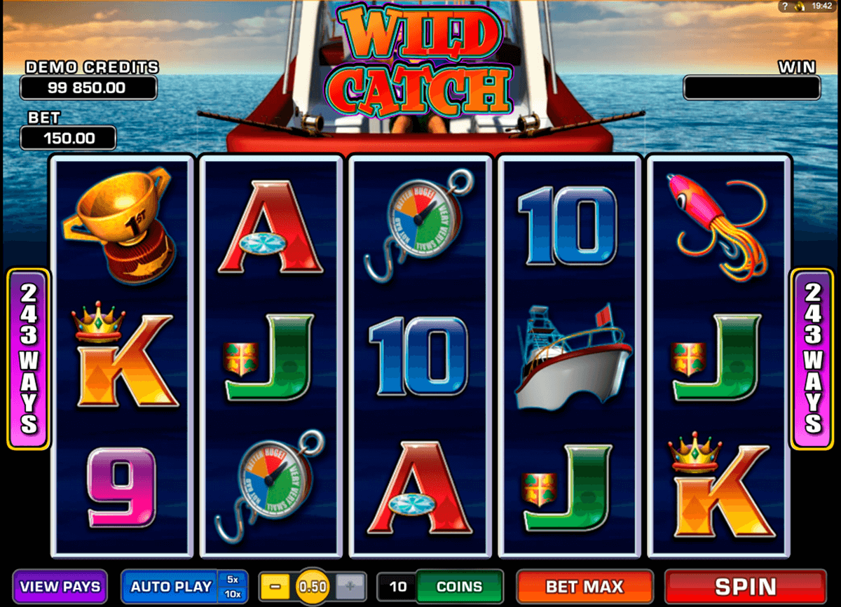 wild catch microgaming tragamonedas gratis
