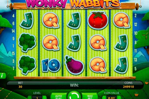 wonky wabbits netent tragamonedas gratis