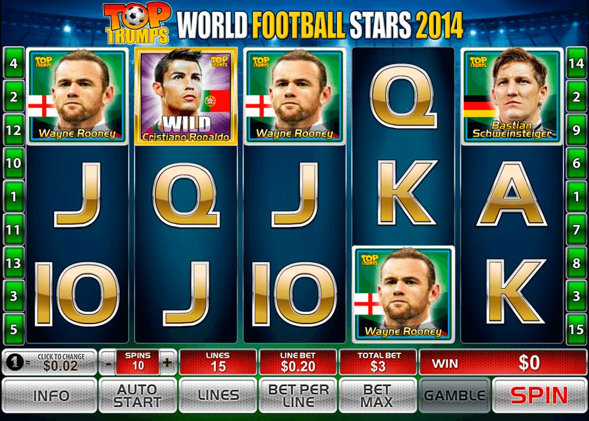 world football stars 2014 playtech tragamonedas gratis
